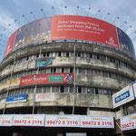 Der Busbahnhof in Calicut