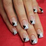 French diamond touch silber & schwarz