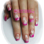 Snow & pink
