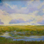 """The Clouds of of Doe Run-oil- 36""""x24"""""""