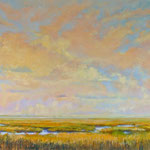 """The Sound of Clouds Dancing - oil on linen 36""""x54"""""""