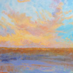 """Gypsy Clouds at Sunset- oil- 36""""x36"""""""