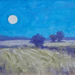 "Twilight Takes the Field -oil- 10""x8"""