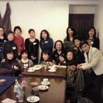 2014年。4月のアリスのお茶会