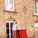 イタリアのブルーノーおじさん、プルチネラの人形遣いの巨匠です