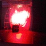 キューバからきた劇団、アンドレ・ブルトンのユビュ王の舞台です