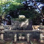 滋賀県蒲生郡安土町下豊浦の安土城跡