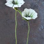 Blume (2 Stk.) Nr. | Flower (2 pieces) No. 54 |   40 €   | ca. 30 cm