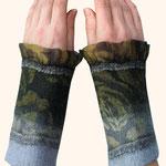Stulpen Nr. | Wristlets No. 73  |  35 €   |   Chiffon/Merino gefilzt/felted