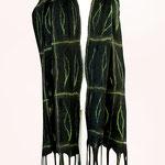 Schal Nr. | Scarf No. 111  |  130 €   |   Chiffon/Merino gefilzt/felted   |   Individualisierbar
