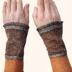 Stulpen Nr. | Wristlets No. 54  |  35 €   |   Chiffon/Merino gefilzt/felted