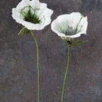 Blume (2 Stk.) Nr. | Flower (2 pieces) No. 53 |   40 €   | ca. 30 cm