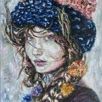 Winter Mädchen 70x50