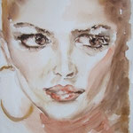 Portrait:Vollblut 22x30cm