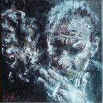 Portrait:Paolo Conte 30x30cm