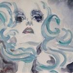 Portrait:Ledi GaGa 42x30cm