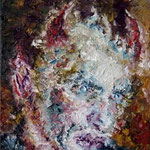 Portrait:Der Teufel 24x30cm