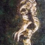 Portrait:Im Kerzenlicht 20x40cm
