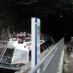 Tunnel fluvial à Besançon