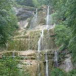 Si peu d'eau dans la cascade du Hérisson