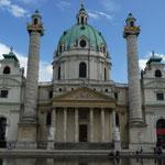 Karlkirche à Vienne