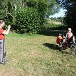 Marten, sympathique gérant du camping La Chassagne à Ronnet