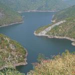 Lac de barrage de la Văča