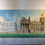 Reichstag, 70 x 100cm, Tusche/Aquarell, ©Berthold B.Knopp