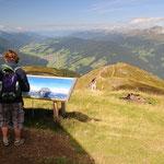 Panurama verso la Pusteria e le alpi Aurine