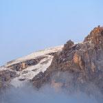 le cime coperte di neve