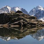 Panorama su Roseg e Bernina (Furcia Surlej Engadina)