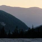 L' alta val Campo di Dentro all'alba