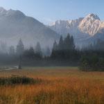 Nebbia sul confine (alpi Giulie)