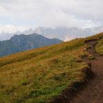Baita lungo il sentiero