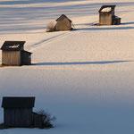 Prime luci dell'ultimo giorno d'Inverno (Sesto Pusteria)