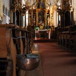 Interni della chiesetta