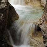 Cascata della soffia valle del Mis