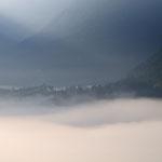 nebbia al Vajont