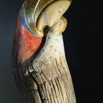 Scultura esposta alla mostra