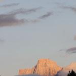 Pelmo al tramonto da Ornella