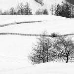 Val di Funes sotto la neve