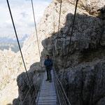 Ponte sul sentiero Kaiserjager
