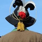 Particolare del cappello schutzen