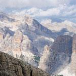 panorama dal Lagazuoi