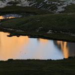 La Croda Fiscalina si specchia nei Laghi dei Piani