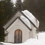 Cappella a passo Monte Croce di Comelico