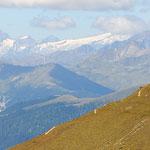 Monte Elmo in seondo piano le Alpi Pusteresi