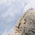 La cima del Lagazuoi