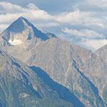 Monte Emilius e becca di Nona da St Magdelaine