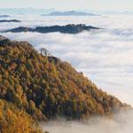 Un mare di nuvole (Panoramica Zegna)